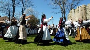 Celebración día das letras galegas en Santa Cruz